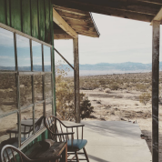 Joshua Tree homestead cabin porch